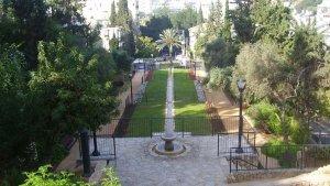 גן אברהם ברמת גן, הסמוך למבנה. קרדיט: dr. avishai teicher